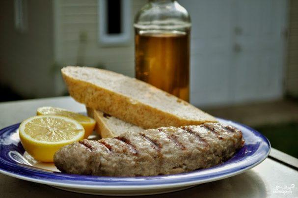 Люля-кебаб на сковороде-гриль