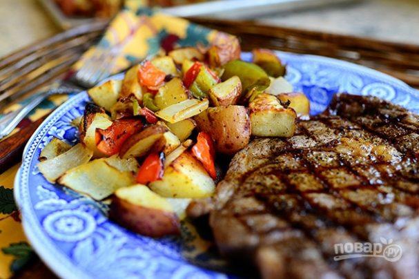 Овощной гарнир к мясу