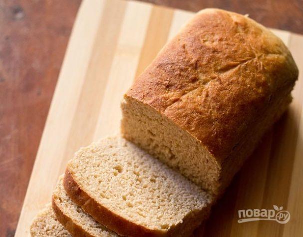 Рецепт пшеничного хлеба в духовке