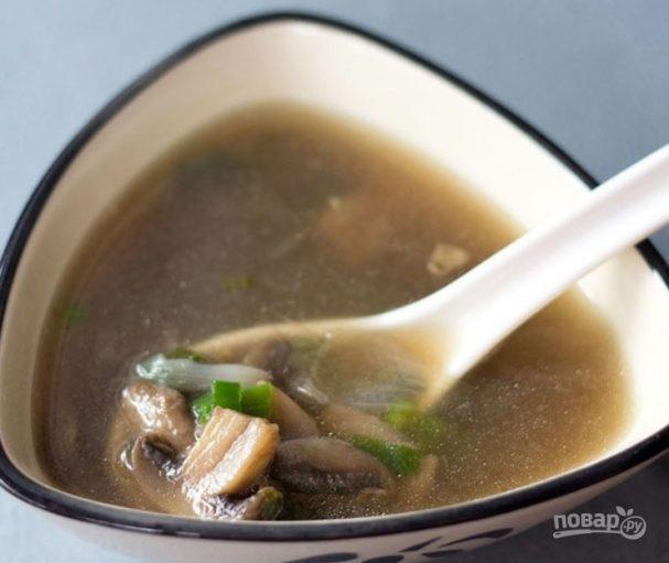 Рецепт супа с грибами