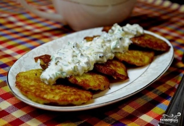 Картофляники из сырой картошки