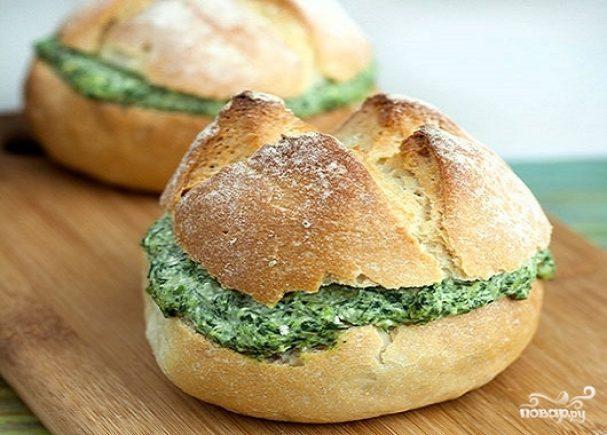 Закуска из творога с зеленью