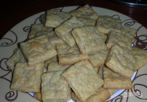 Печенье с плавленым сыром и прованскими травами