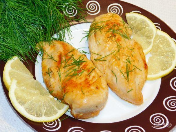 Лимонно-медовые куриные грудки