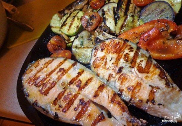 Рыба на сковороде