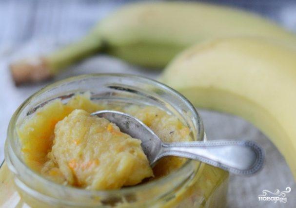 банановый джем рецепт