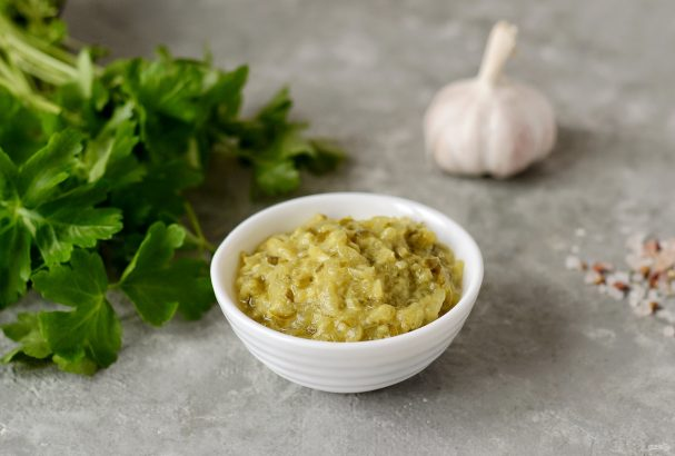 Соус из соленых огурцов и горчицы