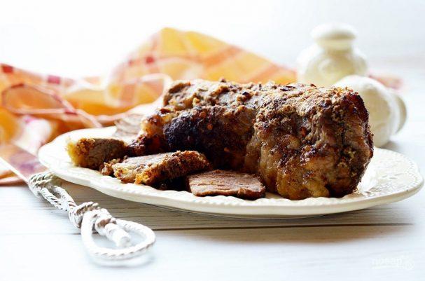Мясо в микроволновке