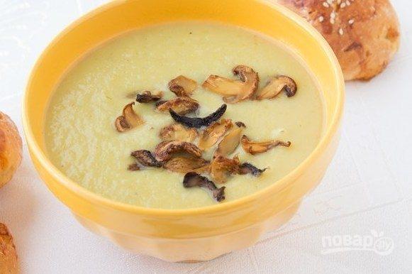 Грибной суп с плавленным сыром рецепт с пошаговым фото