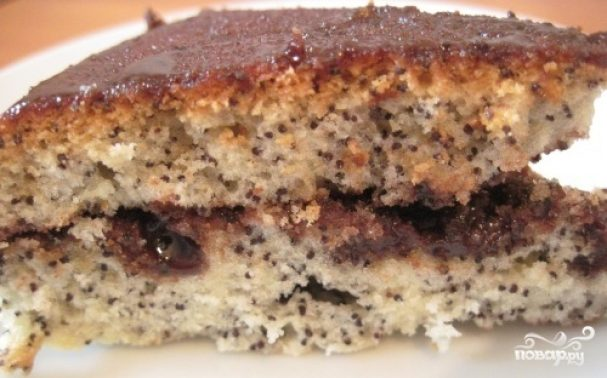 Пирог с маком в мультиварке