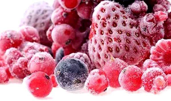 Желе из замороженных ягод