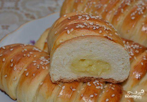 рецепт сладкие булочки