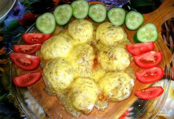 Картофель в микроволновке