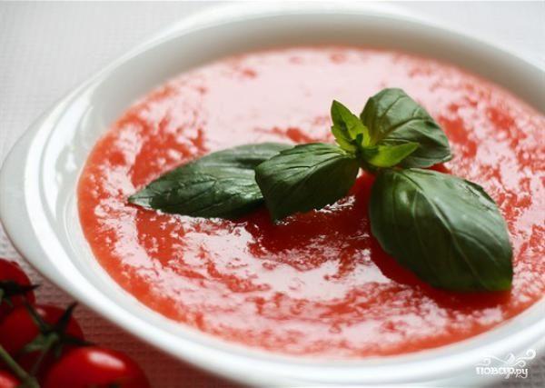 Итальянский суп из помидоров