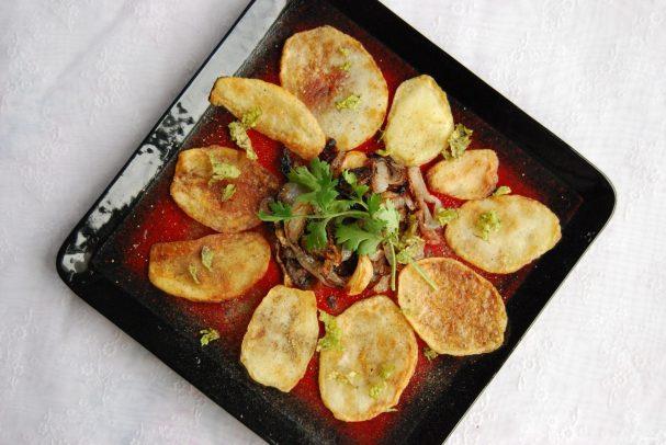 Картофель барбекю