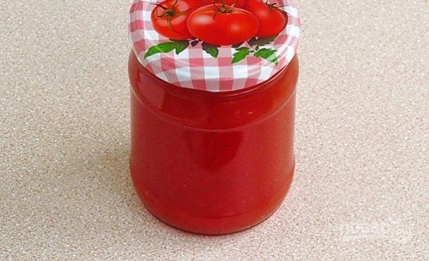 Рецепты приготовление домашнего томатного соуса на зиму
