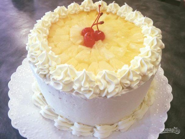 крем для украшения на торт рецепт