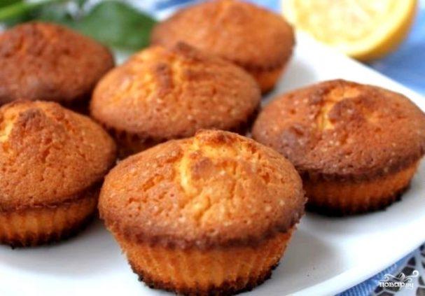 рецепт постных кексов в формочках