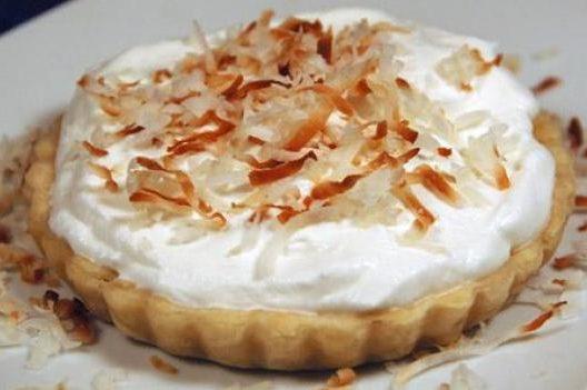 Пирог с кокосовым кремом