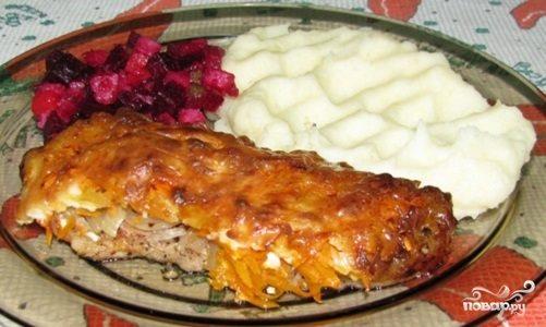 Мясо отбивное в духовке