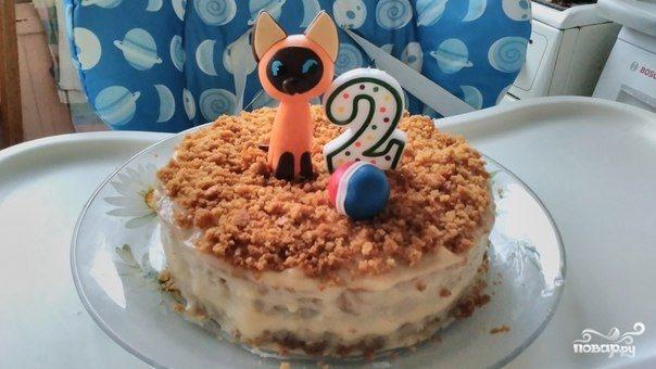 торт на 2 годика рецепт