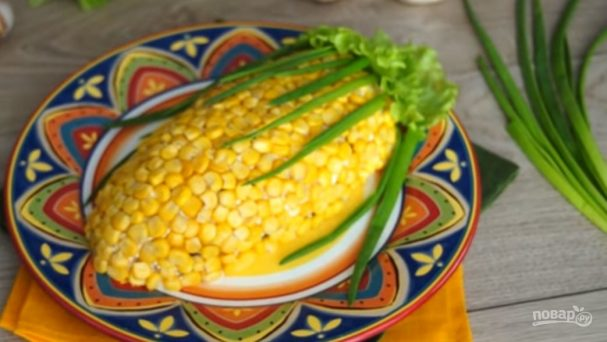 "Салат ""Кукуруза"""