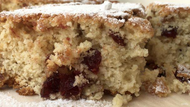 Вкусный кекс-пирог