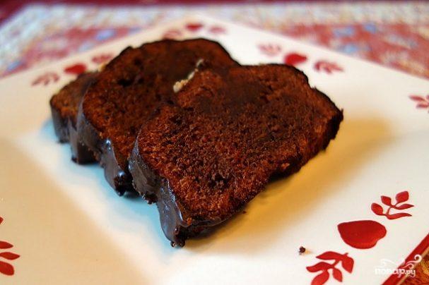 Кекс шоколадный без масла рецепт пошагово
