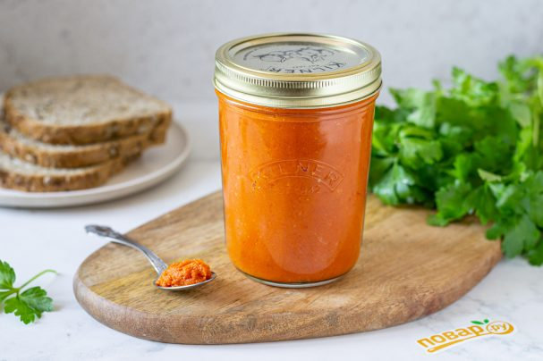 """Салат из моркови """"Оранжевое чудо"""" на зиму"""
