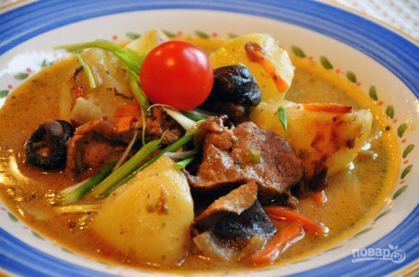 Грибы шиитаке в духовке