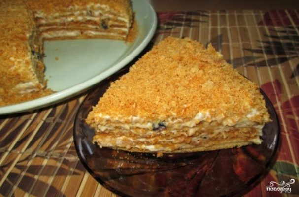Вегетарианский торт без яиц