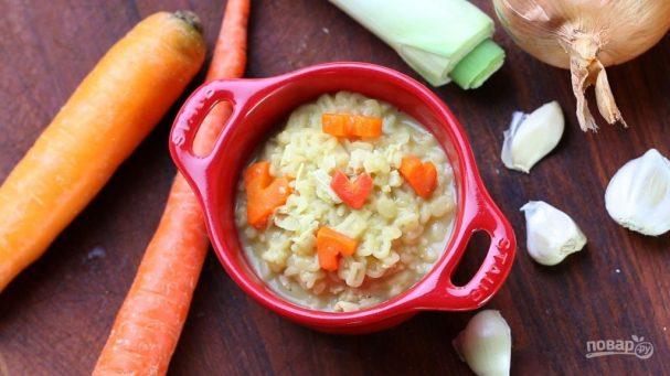 Куриный суп с лапшой по-итальянски