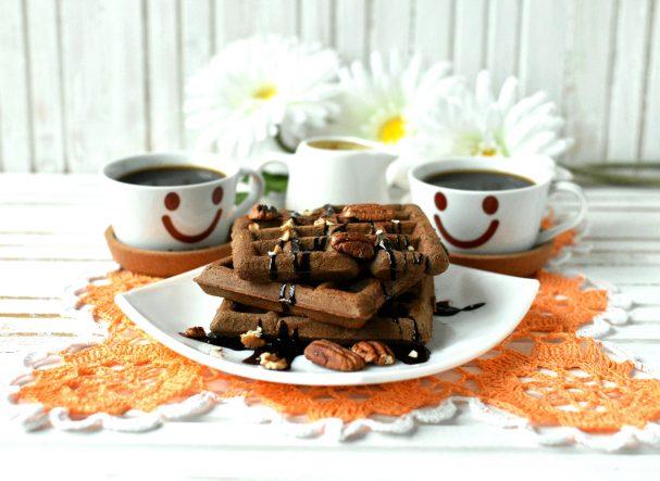 Венские шоколадные вафли