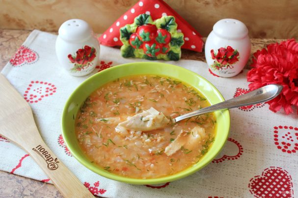 Суп харчо из индейки