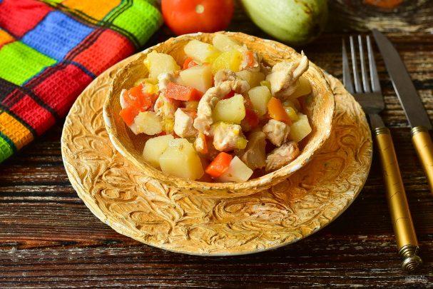 Овощное рагу по-турецки