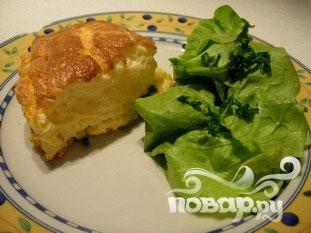 Омлет-суфле с сыром