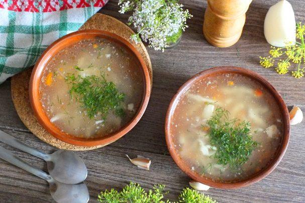 Суп из утки в мультиварке