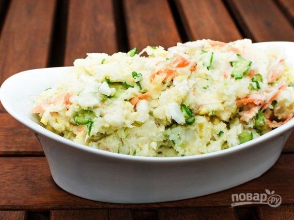 """Салат из овощей """"Сытный"""""""