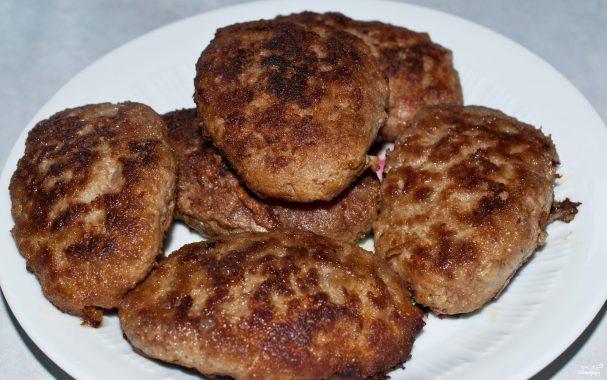 рецепт приготовления котлет из говядины