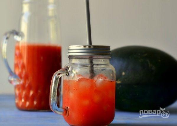 Пикантный арбузный сок
