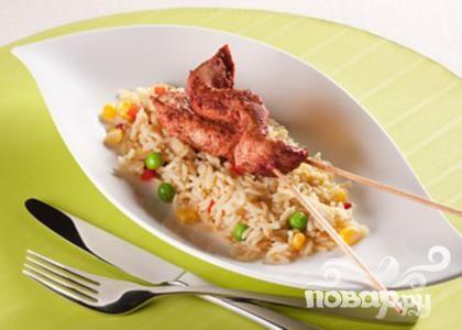 Тандури с рисом