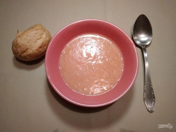 Томатно-картофельный суп-пюре в мультиварке