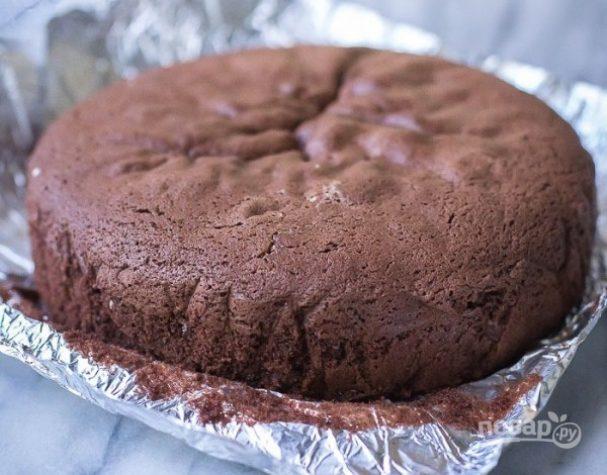 Рецепт шоколадного бисквита для торта