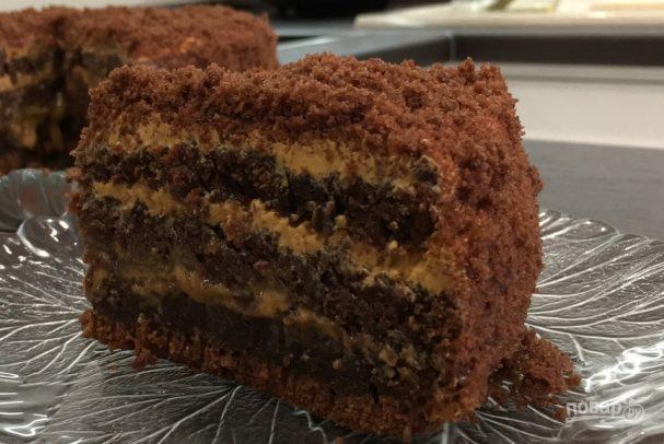 """Домашний шоколадный торт """"Пеле"""""""