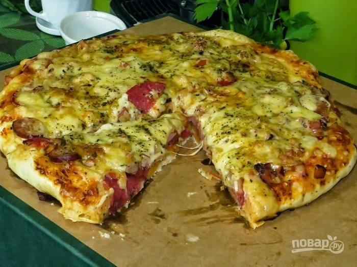 Вкусный рецепт пиццы