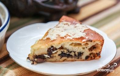 8.Вот так, легко и просто, у нас получился пирог с маслятами! Приятного Вам аппетита!