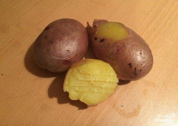 Картошка в микроволновке в пакете