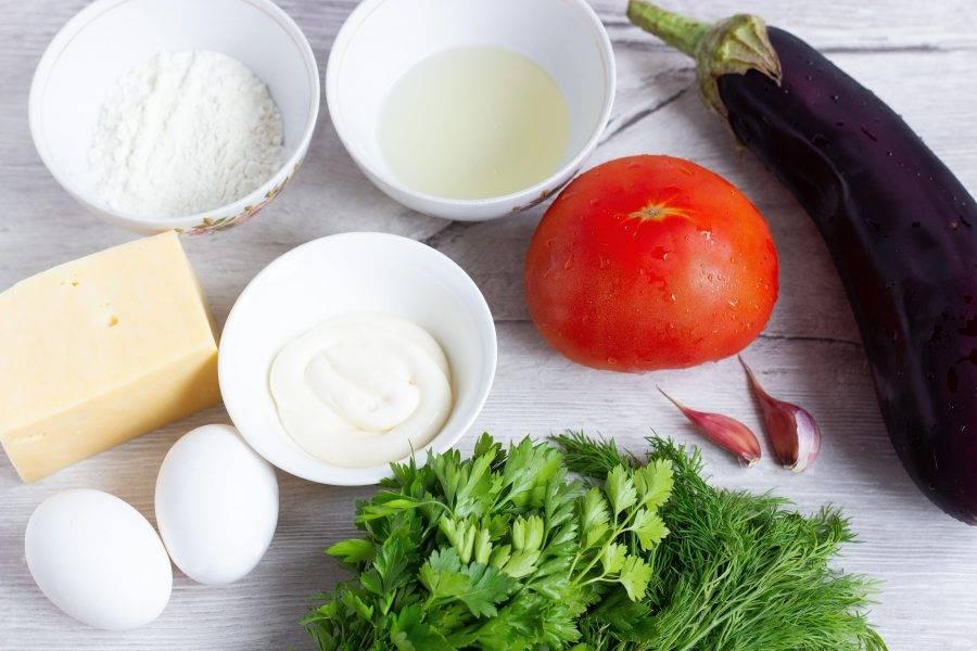 Подготовьте все необходимые ингредиенты, включая соль, перец, специи.
