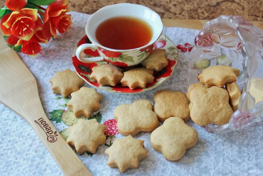 Постное печенье с медом