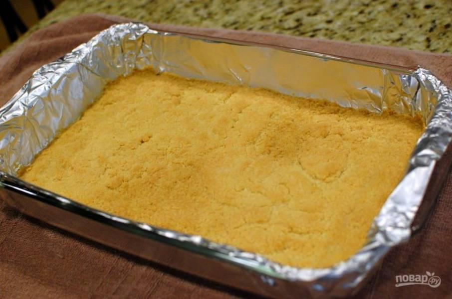 3.Отправьте форму в разогретую до 180 градусов духовку на 20-25 минут.